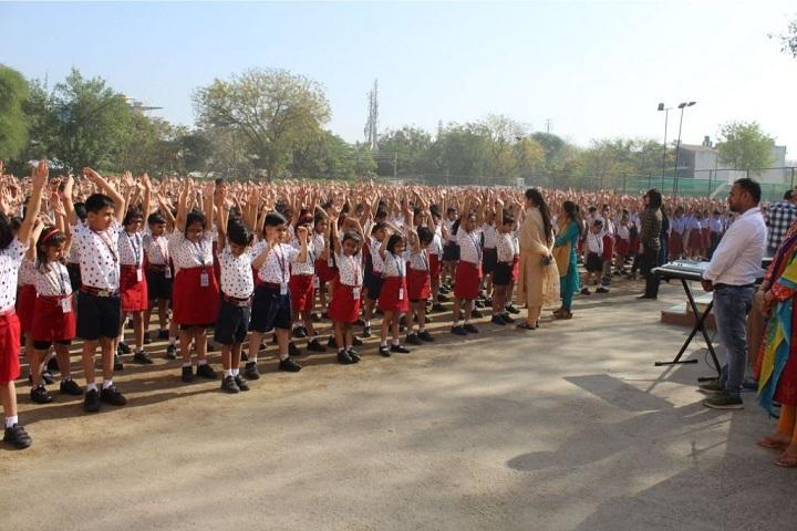 The Maurya School-Assembly