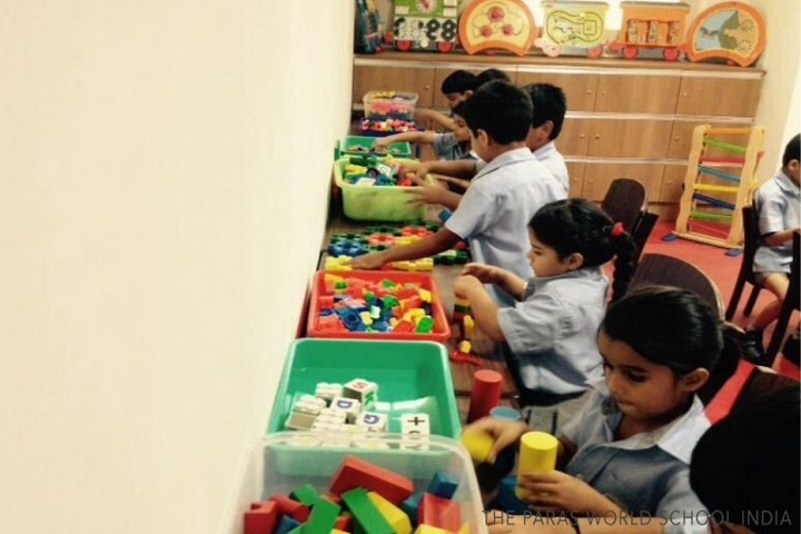 The Paras World School India-Exploration lab