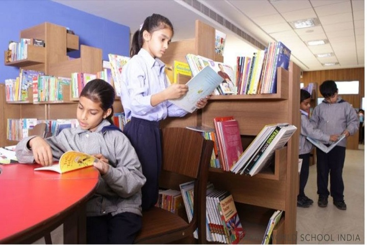 The Paras World School India-Libary