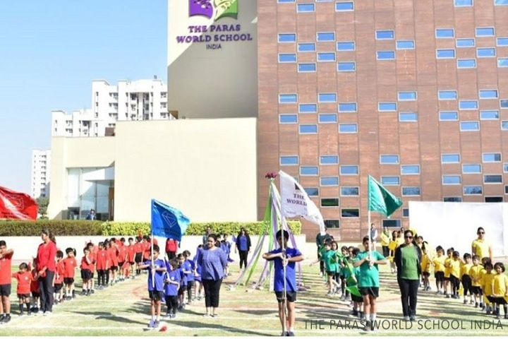 The Paras World School India-Sports day