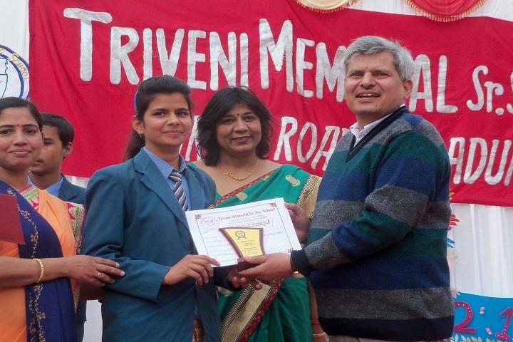 Triveni Memorial Senior Secondary School-Achievement