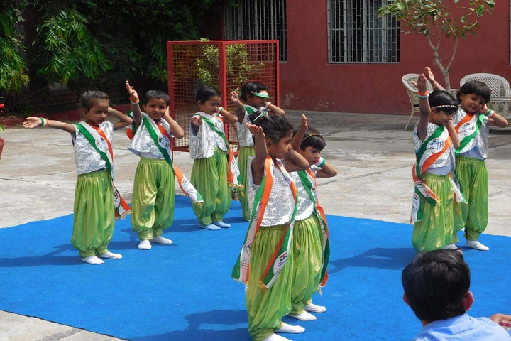 Triveni Memorial Senior Secondary School-Independence day