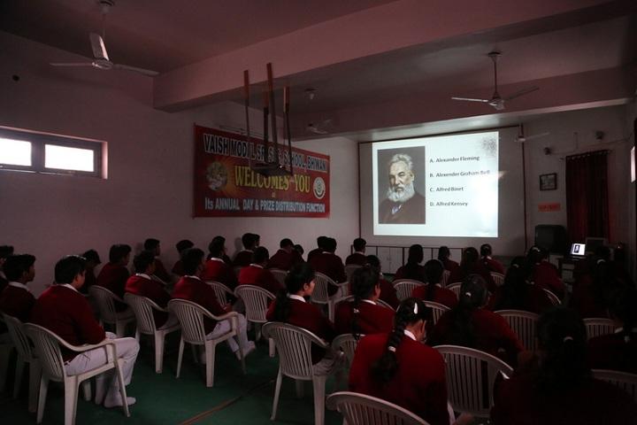 Vaish Model Senior Secondary School-Audio-Visual room