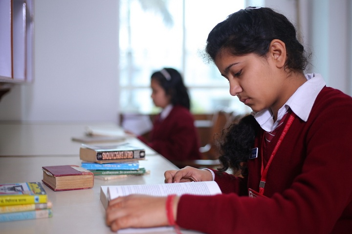 Vaish Model Senior Secondary School-Library