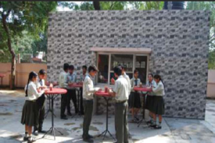 Vidya Niketan School-Food Plaza