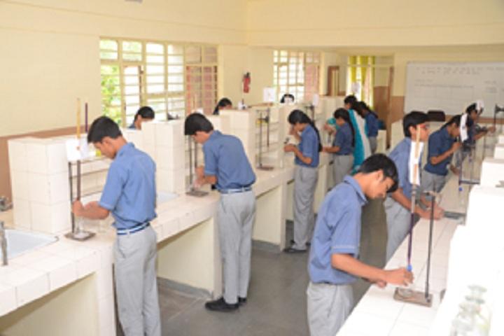 Vidya Niketan School-Science lab