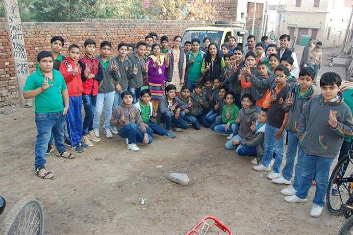 Vidyantriksh Senior Secondary School-Adventure camp