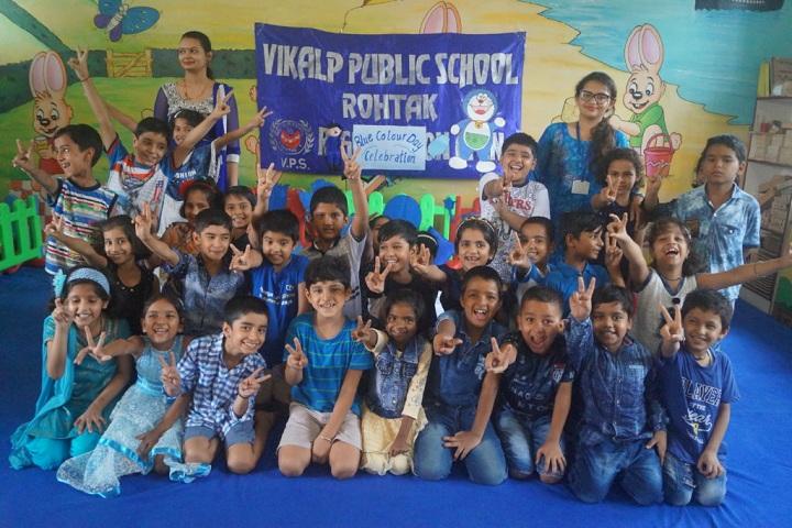 Vikalp Public High School-Blue day
