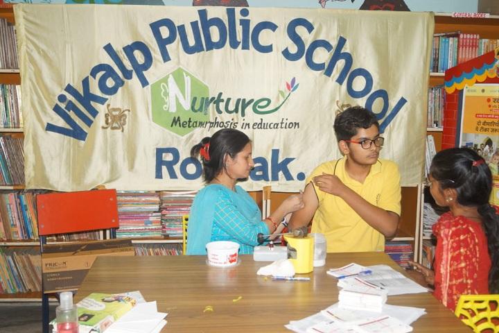 Vikalp Public High School-Health Checkup