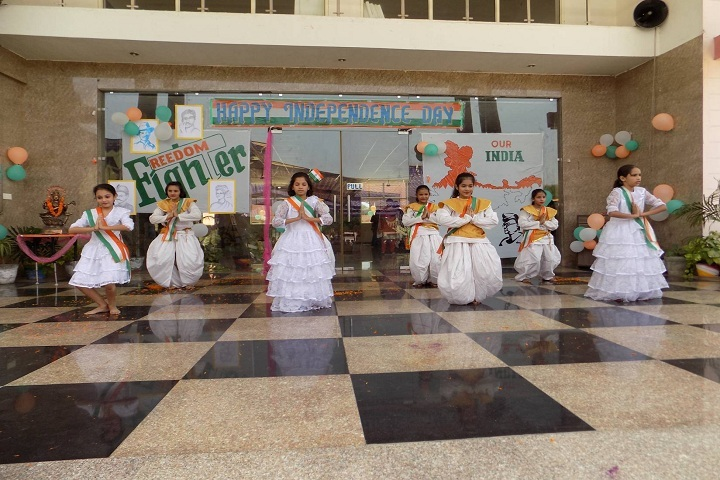 Vikas International School-Independence day