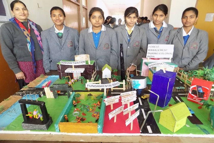 Vikas International School-Science Exhibition