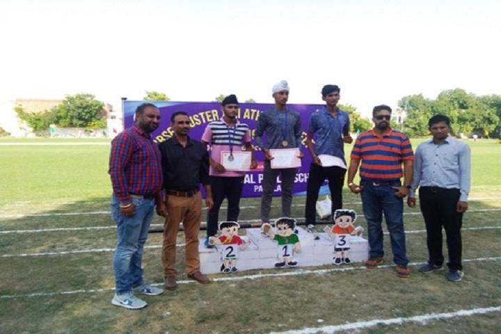 Vishwas Nav Sharda Public School-Atlethic Champion