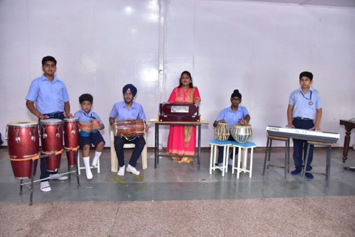 Vivekanand Global School-Music Room
