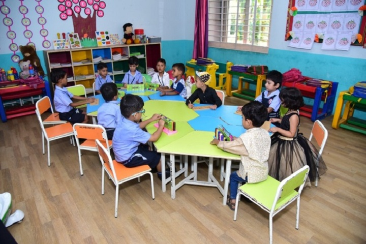 Vivekanand Global School-Smart Class