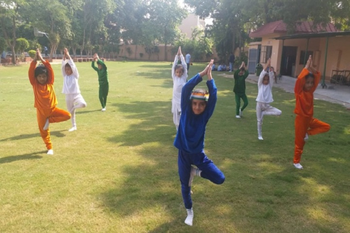 Vivekanand Global School-Yoga