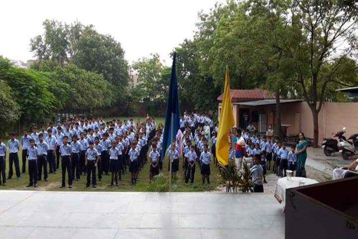 Vivekanand Global School-Assembly