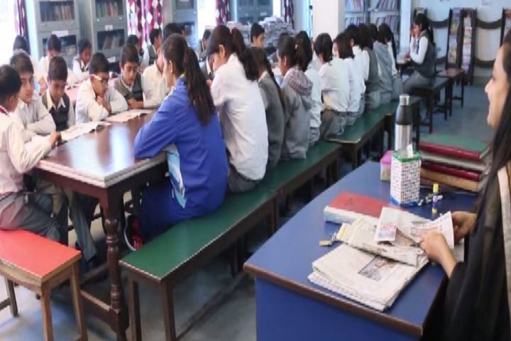 Zee Litera Valley School-Library