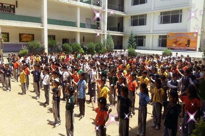 DAV Ambuja Vidya Niketan Public School-Assembly