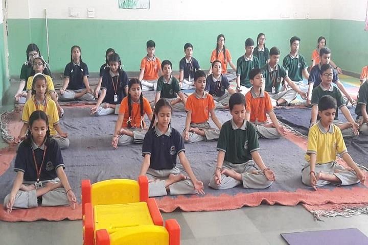 DAV Ambuja Vidya Niketan Public School-Yoga