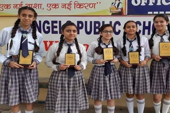 Angels Public School-Felicitation