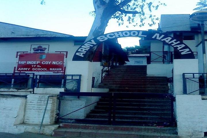 Army Public School-Campus Entrance