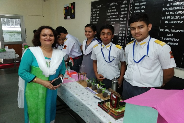 Army Public School-Science Exhibition