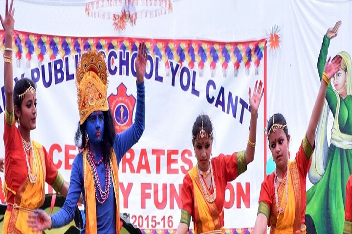 Army Public School-Classical Dance