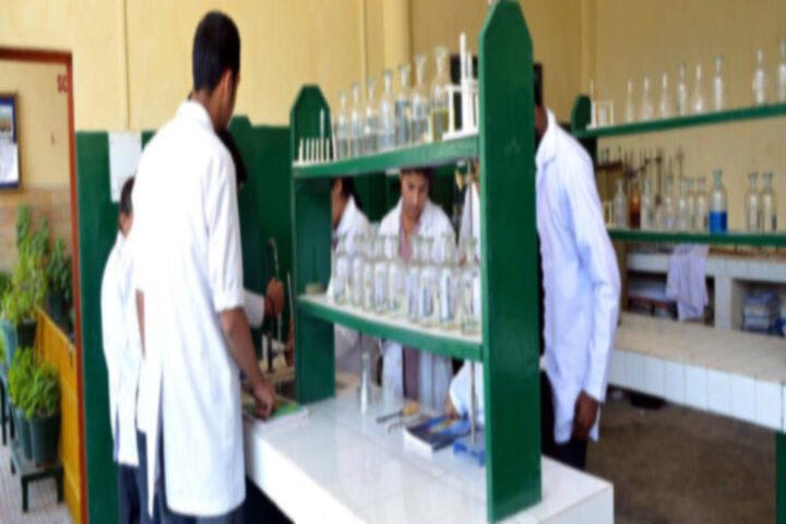 B L Central Public School-Chemistry Lab