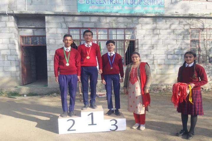 B L Central Public School-Champions