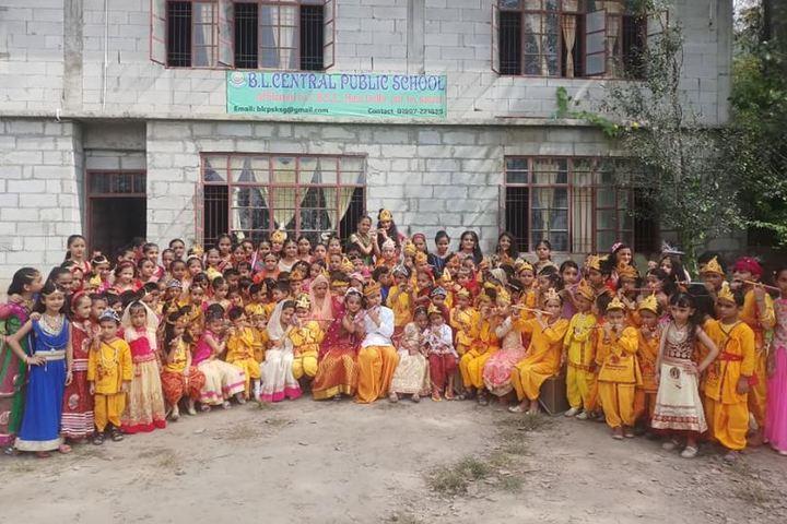 B L Central Public School-Group Photo