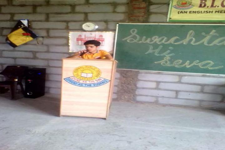 B L Central Public School-Speech