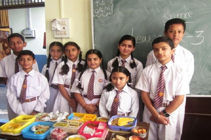 Bhagirathi Dass Dav Public School-Food Festival