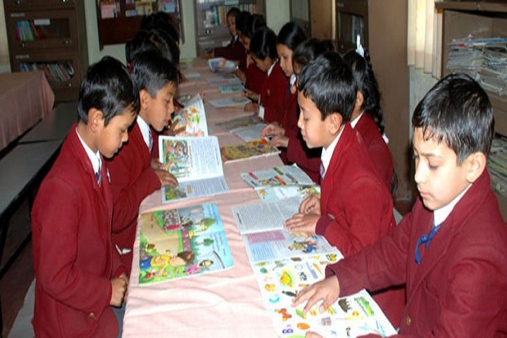Bhagirathi Dass Dav Public School-Library