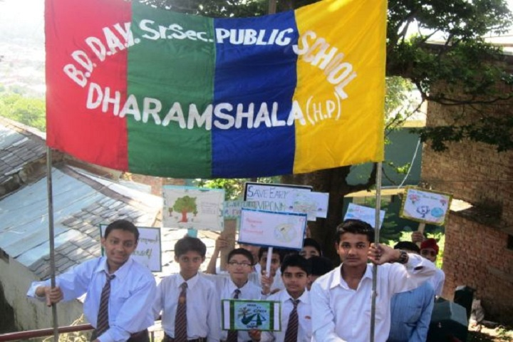 Bhagirathi Dass Dav Public School-Students Rally