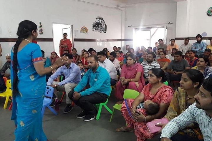 Bhojia Vidyapeeth-Parents Meeting