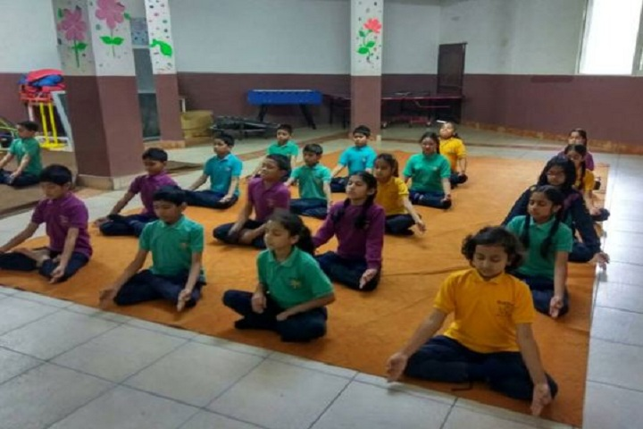 Cambridge International School-Yoga Day