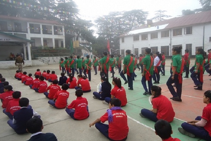 Central School For Tibetans-Morning Assembly