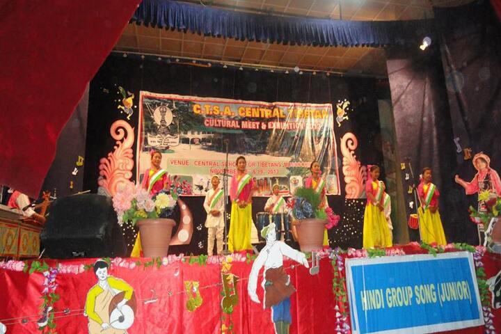 Central School For Tibetans-Dancing Activity