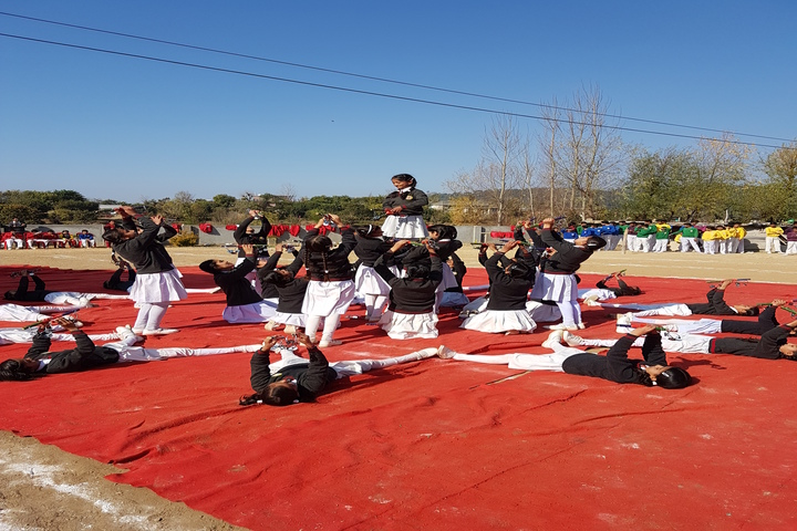 Chail Public School-Dancing Activity