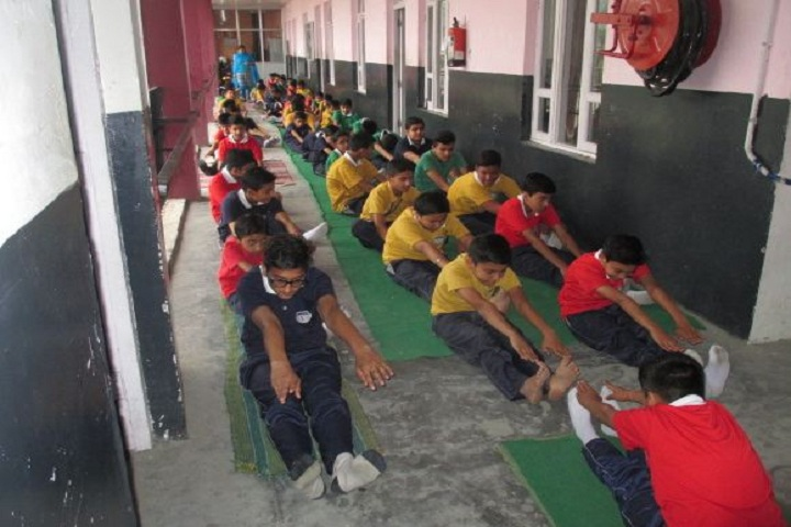 Crescent Public School-Yoga