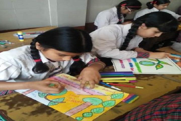 D A V Centenary Public School-Drawing