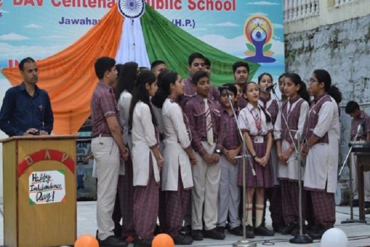 D A V Centenary Public School-Singing