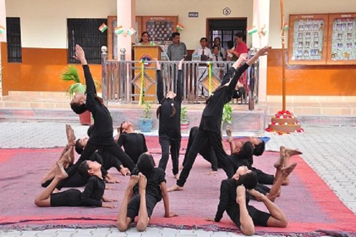 DAV Centenary Public School-Gymnastics