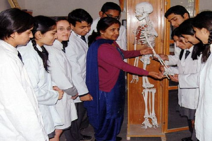 D A V Public School-Biological Lab