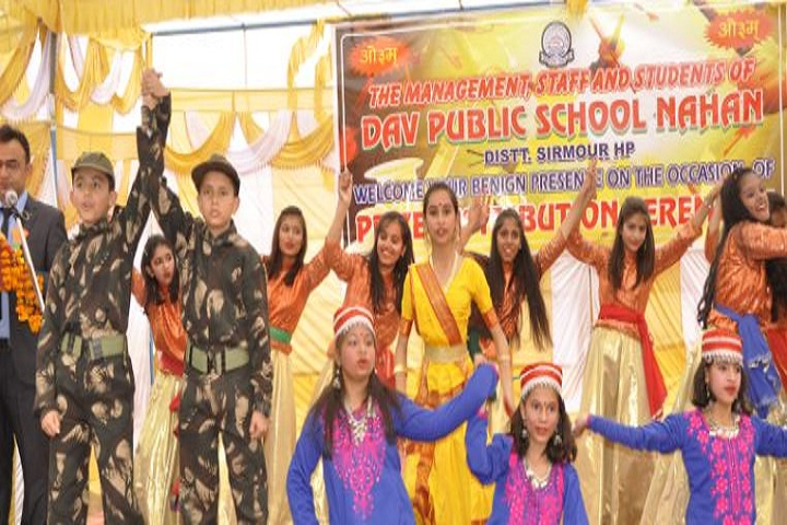 DAV Public School-Dance Events