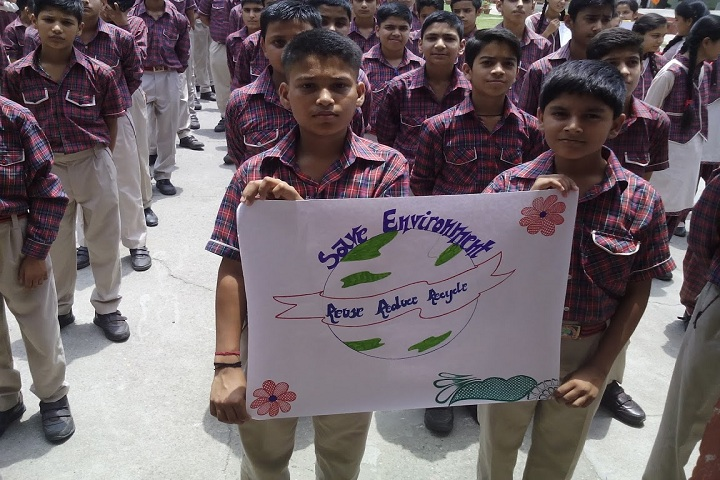 DAV Public School-Environment Day
