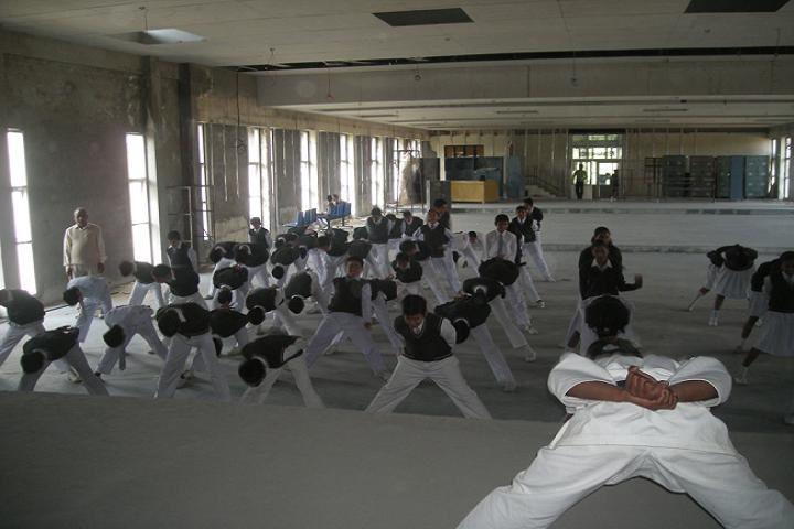 D A V Public School-Karate