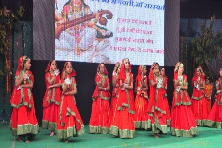 D A V Public School-Cultural Dance