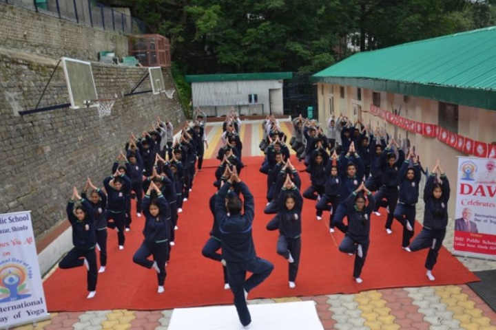 D A V Senior Secondary Public School- Yoga