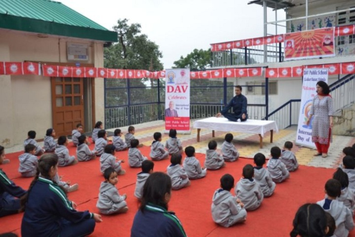 D A V Senior Secondary Public School-Meditation